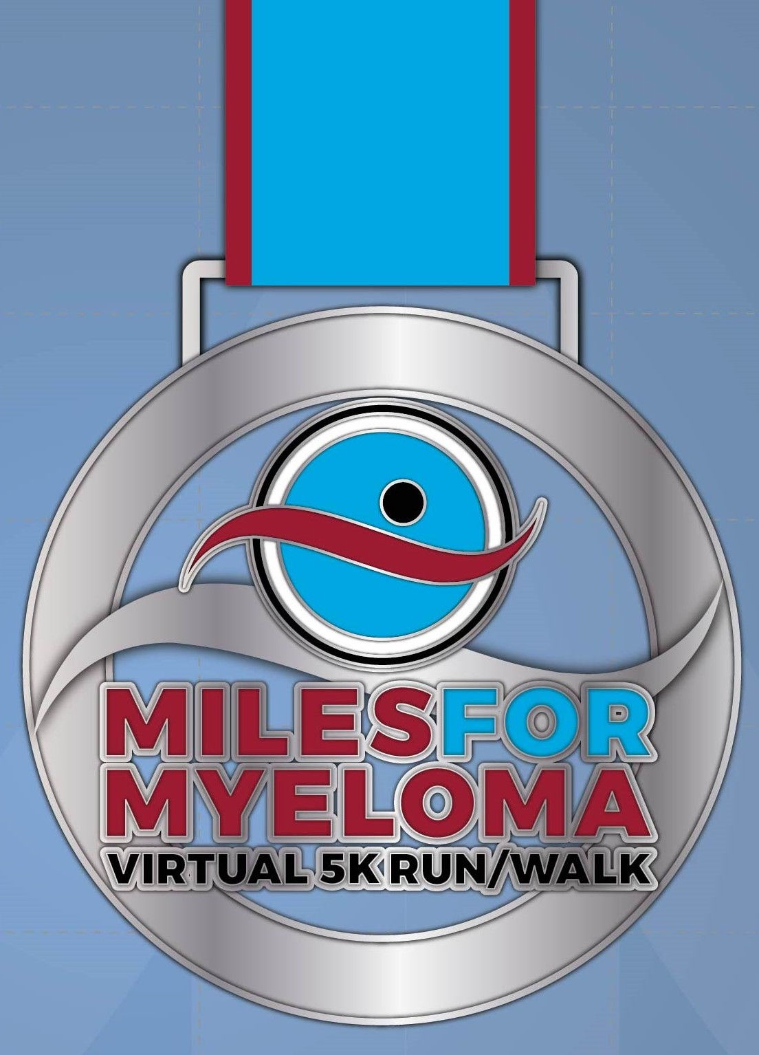 Miles for Myeloma Medal 2021
