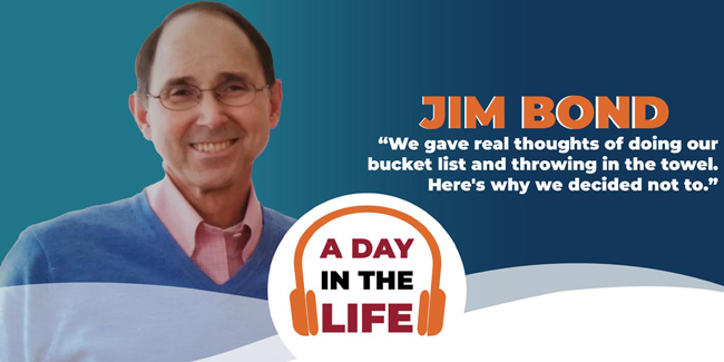 a day in the life podcast with jim bond headshot