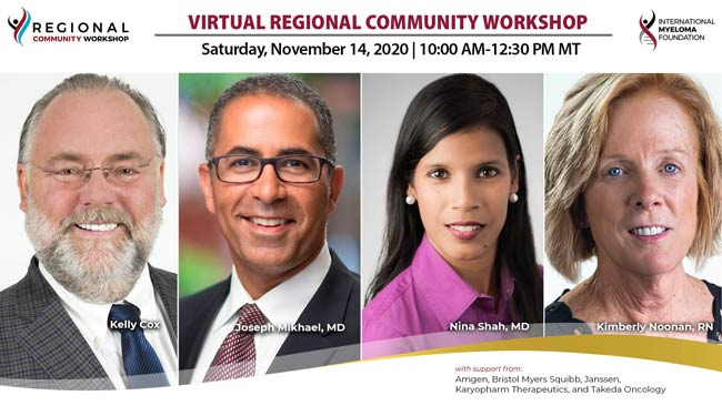 regional community workshop panel speakers