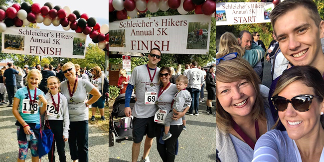 runners and walkers collage