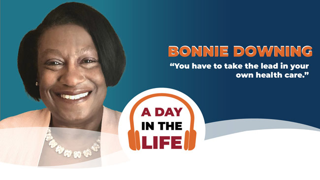 a day in the life podcast with bonnie downing headshot