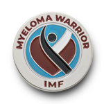 Click here for more information about Myeloma Warrior Heart Pin